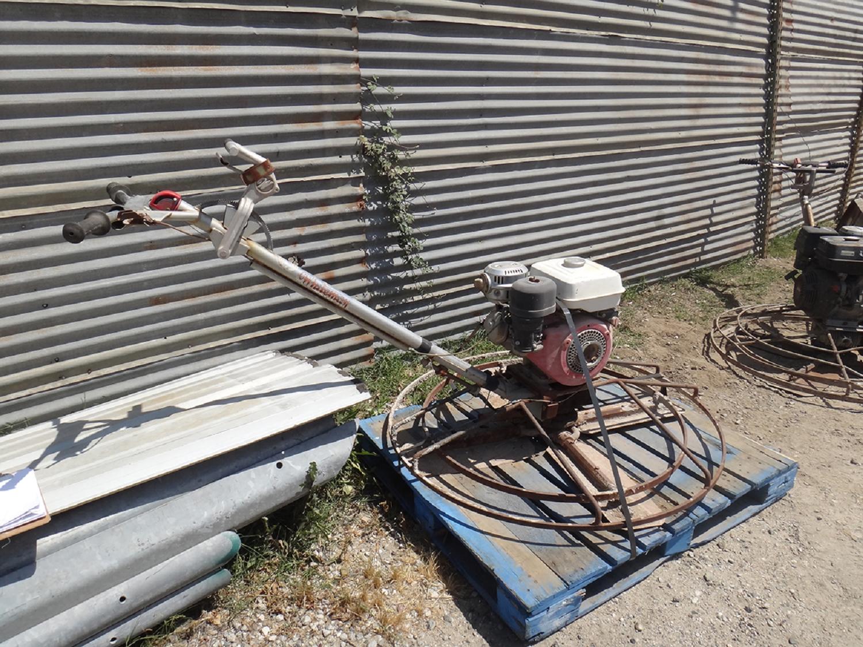 whiteman trowel machine