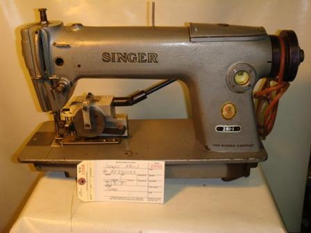 singer 281 1 sewing machine