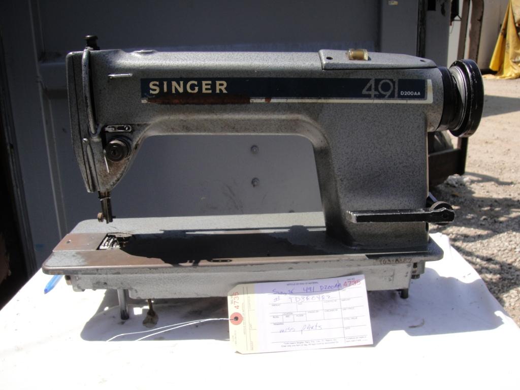 singer 491 sewing machine