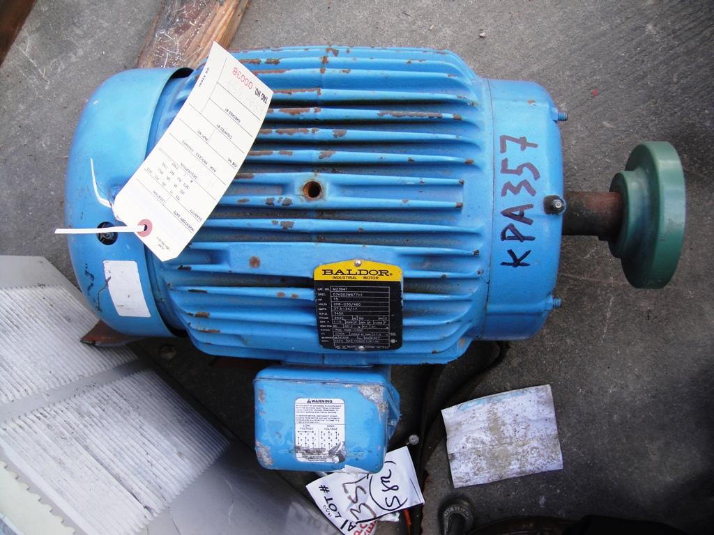 Baldor m2394t motor 15 hp for Baldor 15 hp motor