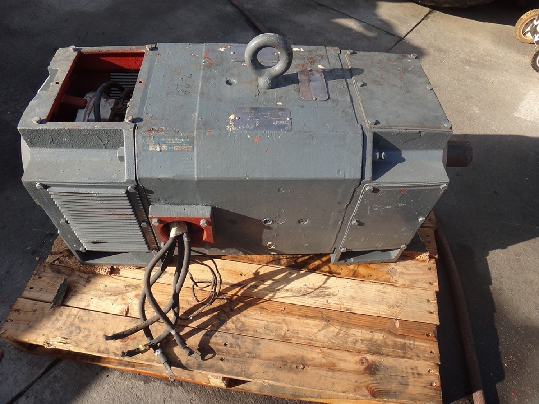 Reliance 100hp Motor