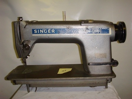 SINGER 491 Q200 AA, SINGLE NEEDLE SEWIG MACHINE
