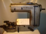 SINGER 300W201, CHAINSTITCH SEWING MACHINE, MISSING PARTS