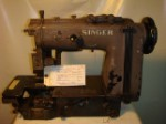 SINGER 300W401, CHAINSTITCH SEWING MACHINE, MISSING PARTS