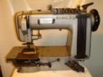 SINGER 300X0101, CHAINSTITCH SEWING MACHINE, MULTI NEEDLE