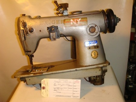 SINGER 262-2, SINGLE NEEDLE CHAINSTICH