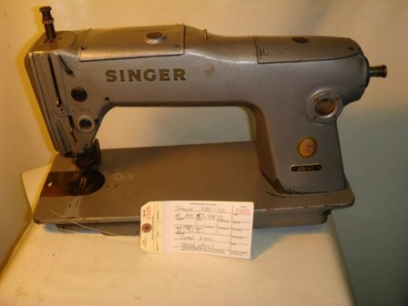 SINGER 280-20, SINGLE NEEDLE