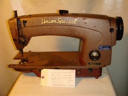 UNION SPECIAL 63400B, SINGLE NEEDLE LOCKSTITCH MISSING PARTS