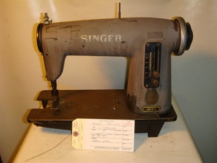 SINGER 400W31,  SINGLE NEEDLE