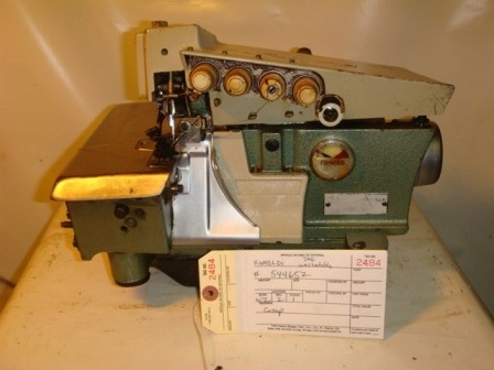 RIMOLDI  Overlock with puller industrial sewing machine