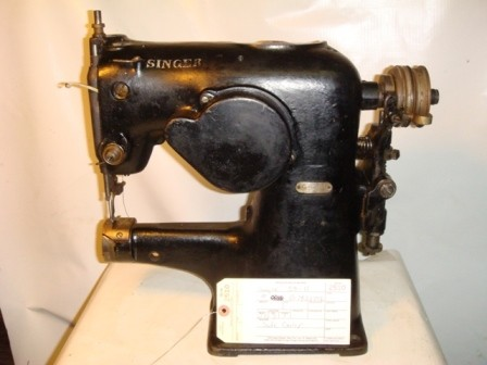 SINGER 58-11, OLD STYLE, SPECIAL CYLINDER SEWING MACHINE