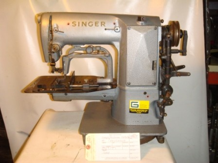 SINGER GELLMAN, HEAVY DUTY BARTACK SEWING MACHINE DRAPERY