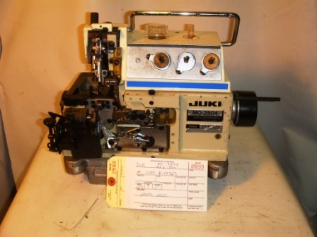JUKI MO-2504 OVERLOCK / SERGER MACHINE, MISSING PARTS