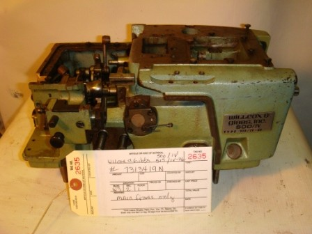 WILCOX & GIBBS 515-4-26, OVERLOCK SERGER MISSING PARTS