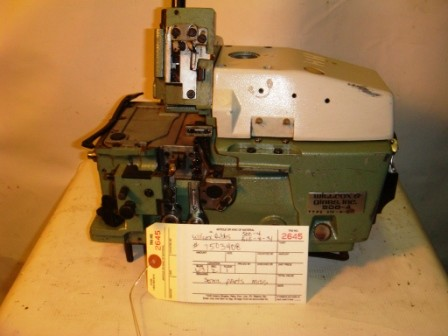 WILCOX & GIBBS 515-4-31, OVERLOCK SERGER MISSING PARTS
