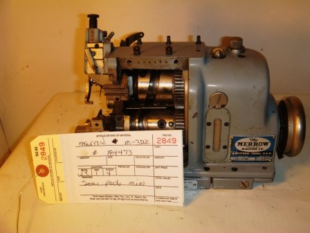 MERROW M-3DWC (Missing Parts) Sewing Machine