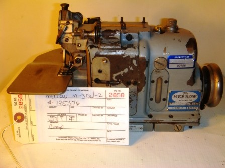 MERROW M-3DW-2  Rolled Edge, overlock, pearl stich sewing machine