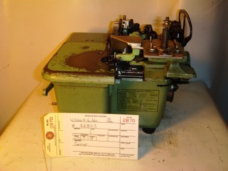 WILCOX & GIBBS, OVERLOCK / SERGER SEWING MACHINE