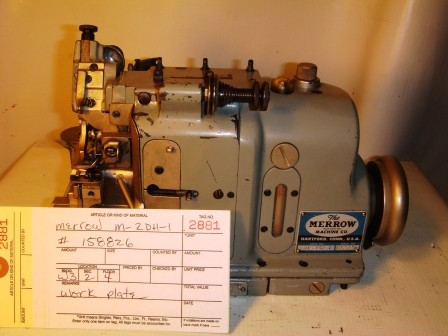 MERROW M-2DH-1 Sewing Machine