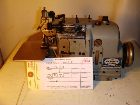 MERROW M-2F Sewing Machine