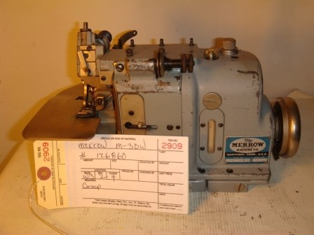 MERROW M-3DW Rolled Edge, overlock, pearl stich sewing machine