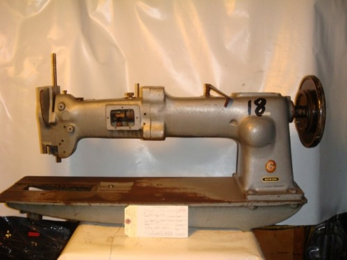 SINGER 145W204, long arm sewing machine, missing parts