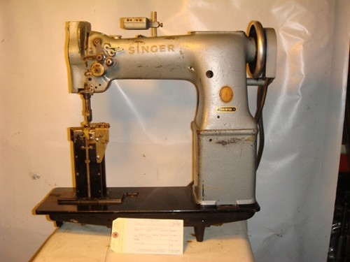 SINGER 138W101, two needle, post machine