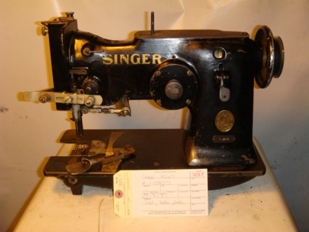 SINGER 143W2, zig zag sewing machine, with the cam