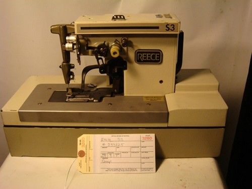 REECE S3 Button Hole Sewing Machine