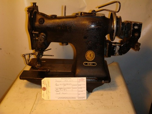 SINGER 151W1, zig zag sewing machine double cam