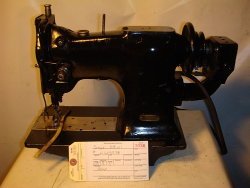SINGER 108W1,  zig zag sewing machine with double cam