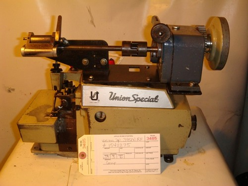 UNION SPECIAL 39500RF, SERGER OVERLOCK, WITH ELASTIC FEEDER