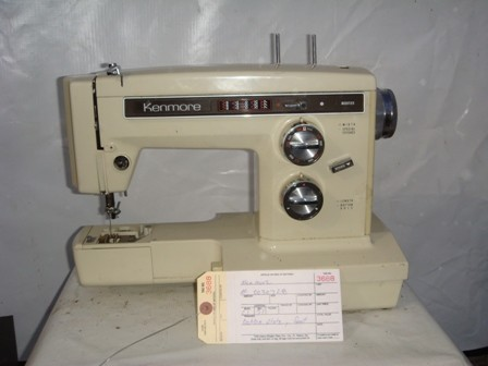 KENMORE, HOME SEWING MACHIN