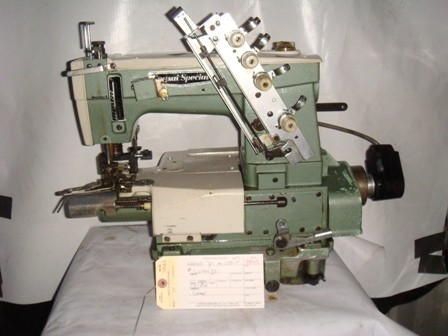 KANSAI SPECIAL M-1002-P, COVERSTITCH WITH PULLER, CYLINDER