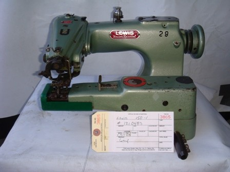 LEWIS 150-1, BLINDSTICH SEWIING MACHINE