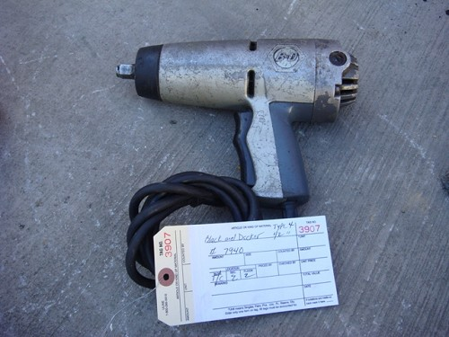 BLACK AND DECKER TYPE 4 1/2""