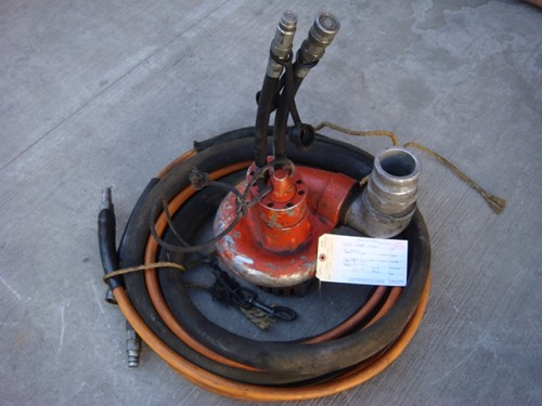 HYDRAULIC SUMP PUMP # 4316