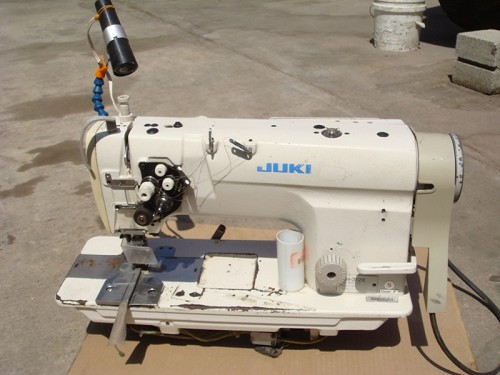 Juki LH-3128 DOUBLE NEEDLE SEWING MACHINE