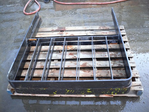 Forklift Fork Cage, 12 3/4 spacing on moutin holes,