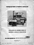 WILCOX & GIBBS 500 IV  User's Manual / Instructions Book in PDF format