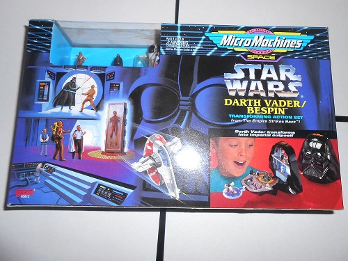 Micro Machines Star Wars Transforming Action Set: Darth Vader Bespin 1994 Galoob