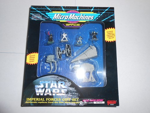 STAR WARS - Micro Machines - Imperial Forces Gift Set - 1994