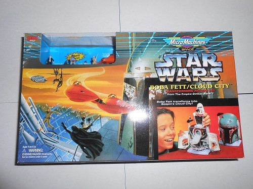 Star Wars Micro Machines Playset Boba Fett / Cloud City
