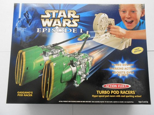 Star Wars Episode 1 Turbo Pod Racers Gasgano's NIB