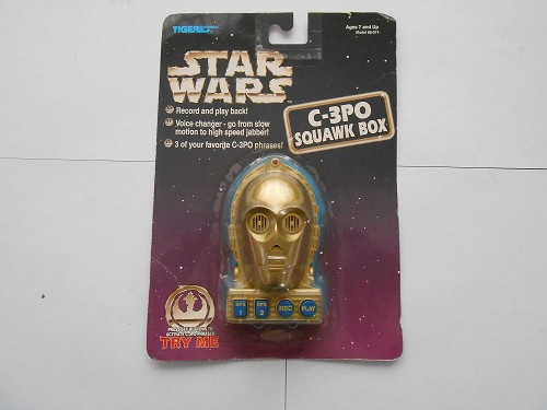 Star Wars C-3PO Squawk Box- Tiger Electronics