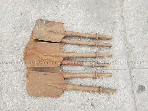 CHISEL JACK HAMMER BITS (Sold Individually)