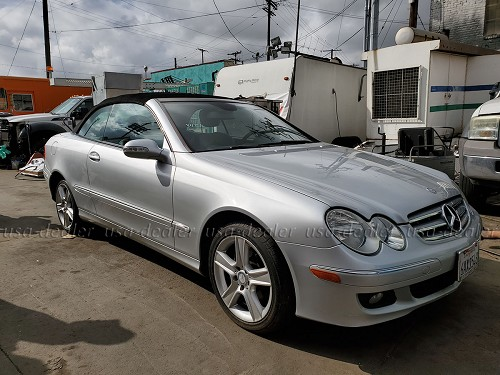 2007 Mercedes Benz CLK350 Convertible