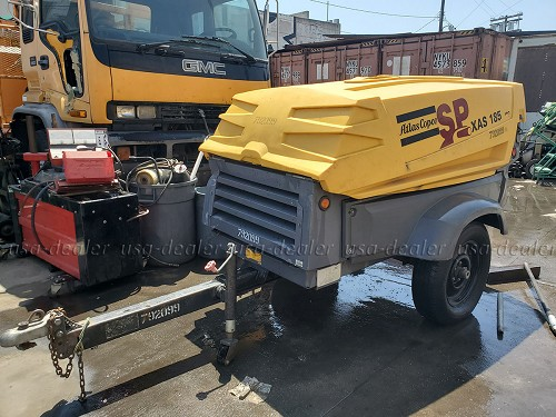 2009 Atlas Copco XAS 185JD