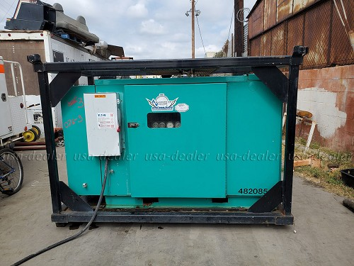 SULLIVAN PALATEK MODEL 60UDF 60 HP ROTARY SCREW AIR COMPRESSOR
