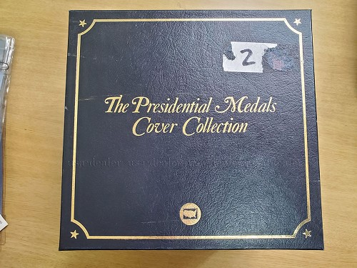 The Presidential Medals Cover/stamp Collection